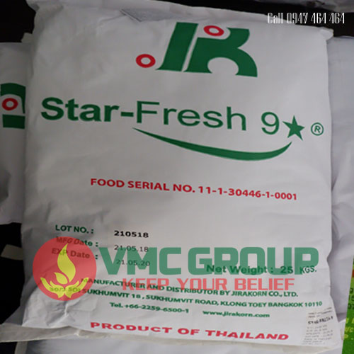 star fresh 9 thai lan bao 25kg