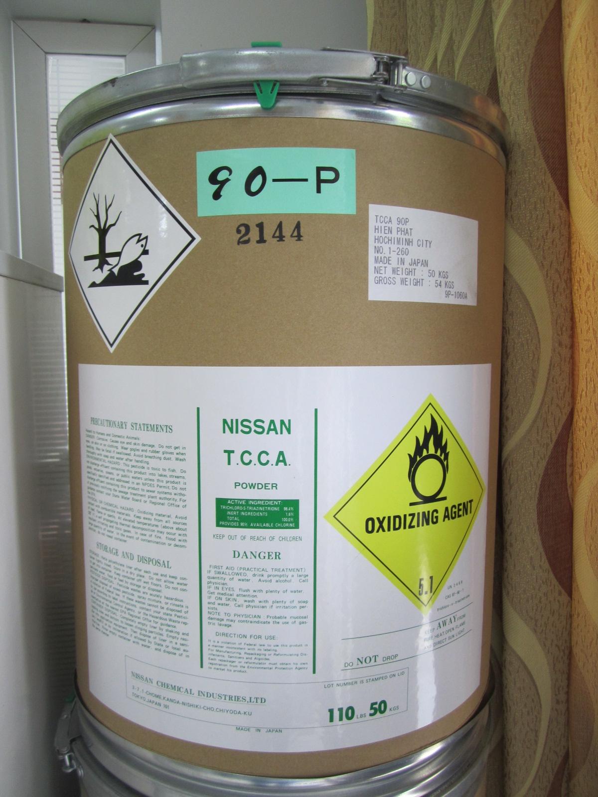 tcca 90% dạng hạt